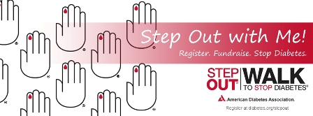 2012 ADA Step Out Logo